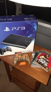 PS3 w/two controllers & 4 games Johnstown, 15904