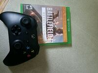 Xbox one black wireless controller/game combo Scarsdale, 10583