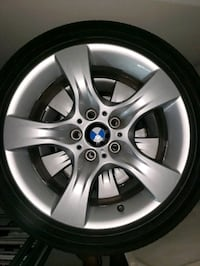 gray BMW 5-spoke wheel with tire Tampa, 33618