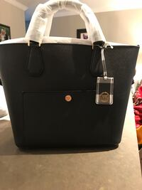 Michael Kors BNIB black leather tote  Toronto, M1M 2G2