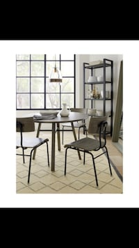 Crate and Barrel scholar table and chairs  New York, 10011