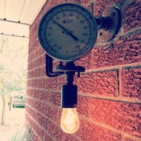 Steampunk Style Custom Outdoor Light Fixture