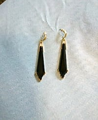 Long black earrings. Edmonton, T5K 2A6