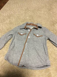 JUST REDUCED   MORE  grey long sleeve shirt 3t