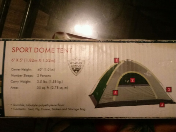 Wenzel Sport Dome Tent( pick up in Norcross)