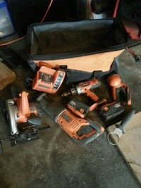 Ridgid power tool kits with bag Lindsay, K9V 5W9
