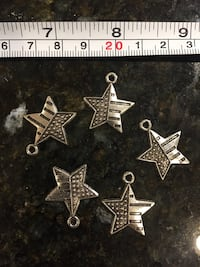 5 stars USA pcs lot DIY charms for jewelry making art crafts shower army Lutherville Timonium, 21093