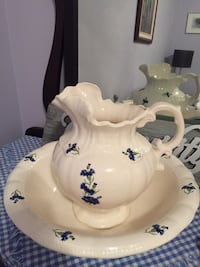 Water pitcher and basin bowl Essa, L0M