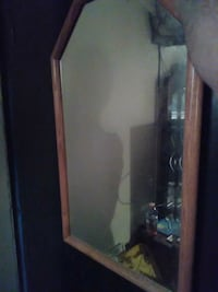 wall mirror with brown frame Shasta Lake, 96019