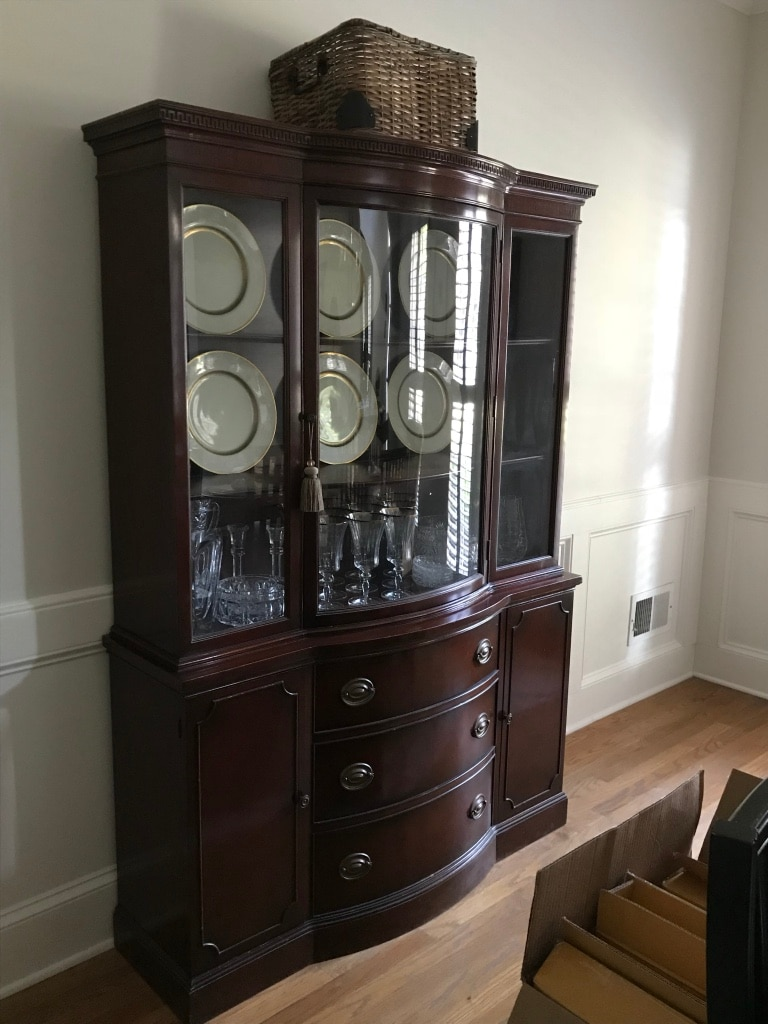 China Cabinet (dishes Not Included)