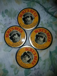 Burt's Bees hand salve $8each or 2 for $15 550 km