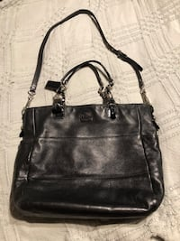 women's black leather shoulder bag Maple Ridge, V2X 4J5