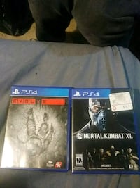 2 ps4 games Frederick, 21701