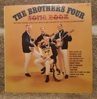 The Brothers Four LP 1961 Song Book   Monaural CL 1697 Columbia  Canad