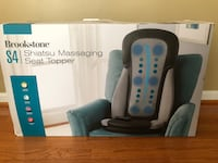 Brookstone S4 Shiatsu Massaging Seat Topper Lorton, 22079