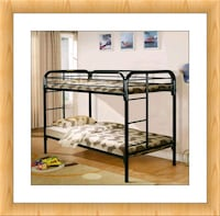 Twin over Twin Bunkbed Brand New Frame with Mattress  Elkridge, 21075