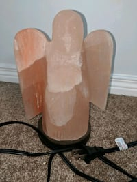 Angel carved Himalayan Salt Lamp Needs bulb Edmonton, T6E 0L9