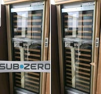 Subzero custom panel ready built-in wine cooler to Davie, 33314