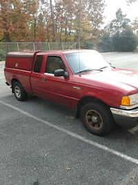 red Ford F150 54 km