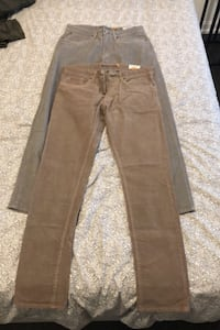 Tailor vintage cords (never worn) (size 32x32) NEGOTIABLE Vaughan, L6A