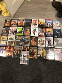 56 DVD Movies and TV Shows 25 km