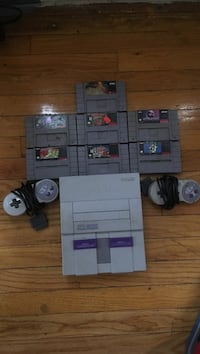 White and black nes game console Detroit