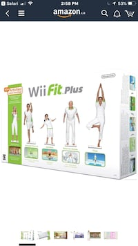 Wii Fit board and software Calgary, T2C 3W9