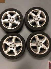 Acura OEM wheels and tires  New Westminster, V3L 3V1