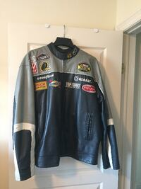 NASCAR JIMMIE JOHNSON #48 LEATHER JACKET IN EXCELLENT CONDITION Hamilton