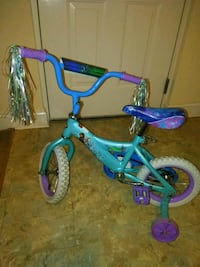 toddler's blue and purple bicycle Silver Spring, 20912