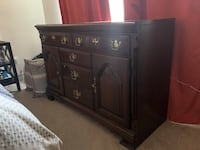 brown wooden cabinet with drawer Arlington, 22201