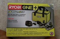 Ryobi one 18 v lithium battery Greater Landover, 20784