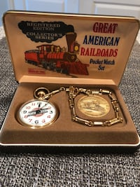 Great American Railroad Pocket watch 819 mi