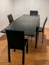 Extendable Dining Table (Tempered Glass)  Toronto, M3H 2M7