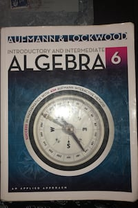 Algebra textbooks  London, N5V 2M6