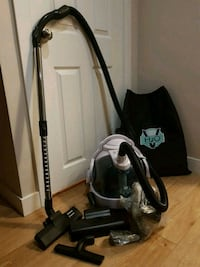 black and gray upright vacuum cleaner Calgary, T3K 5H4