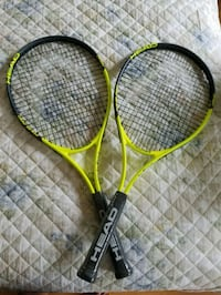 two yellow and black tennis rackets Bethesda, 20816