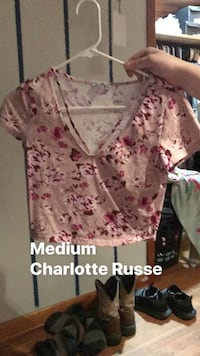 women's pink and white floral dress 418 mi