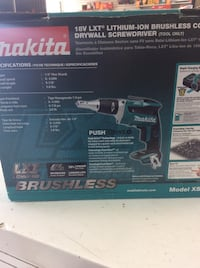Brushless cordless drywall screwdriver  30 km