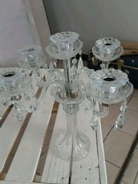 clear glass candle holder El Paso, 79938