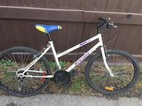 Women's White Bike (24 inch wheels)