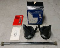 Inversion boots and bar