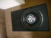 black and gray car subwoofer Center Point, 35215