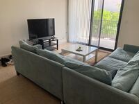 Beautiful blue sectional couch Davie, 33314