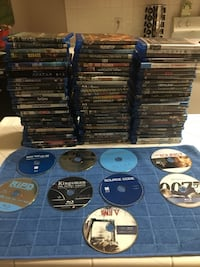 BLU RAY MOVIES, ALL WORK PERFECT, NEGOTIABLE  Fresno, 93720