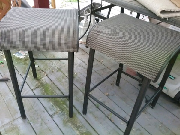 2, bar height stools, $40