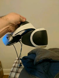 Playstation VR with stand and games