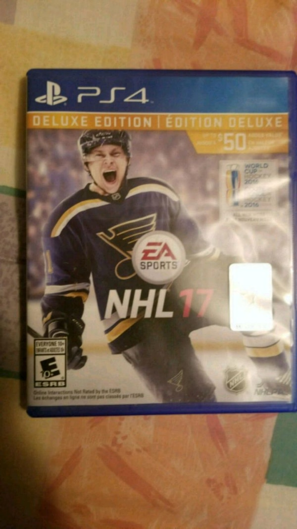 Nhl 17. For ps4 Not one scratch