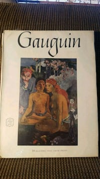 Art book 16 Prints by Paul Gauguin Schenectady, 12308