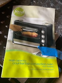Counter Top Rotiserrie Convection Oven